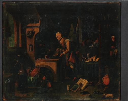 tableau-du-XVllleme-avant-restauration